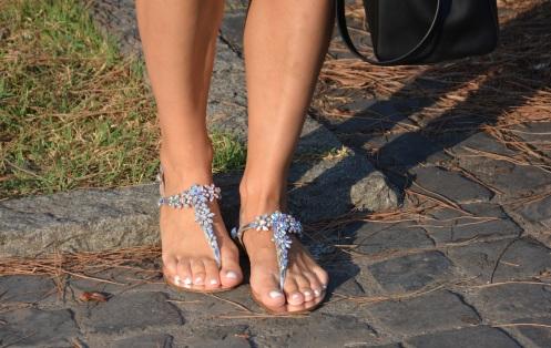 Le silla sandali gioiello