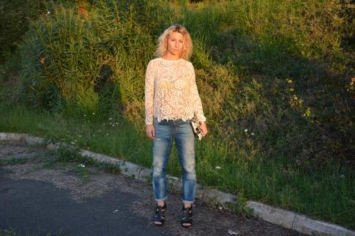 Boyfriend jeans Zara